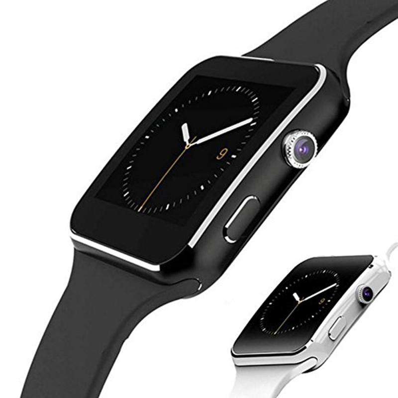 Đồng hồ thông minh nam nữ Bluetooth X6 có thể lắp thẻ SIM vào hệ thống đồng hồ thể thao thông minh với màn hình cảm ứng thông minh và tương thích