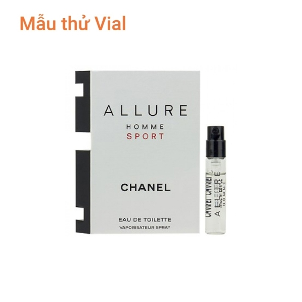 SALE - Nước hoa Vial nam Chanel Allure Homme Sport 2ml