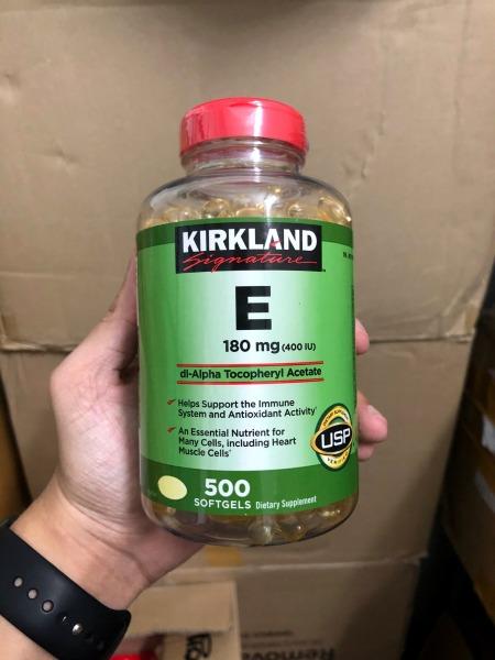 Vitamin E Kirkland  500 Viên Kirkland - Hàng xách tay