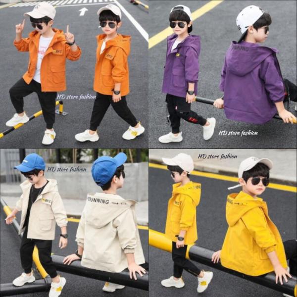 áo khoác bé trai , áo khoác cho bé unisex 5 đến 14 tuổi 0046
