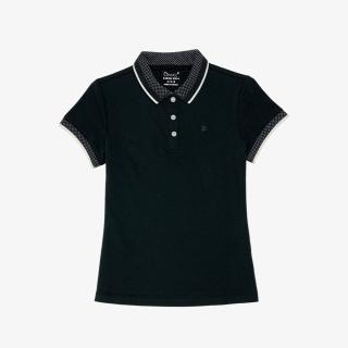 Áo Phông Polo Nữ Cổ Dệt Phối Màu Dmax PL1S012 Dáng Slim Fit Cộc Tay thumbnail