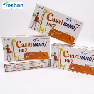 Thực phẩm BVSK Canxi Nano 7+ bổ sung canxi, giúp xương chắc khỏe và hỗ trợ tăng chiều cao cho trẻ thumbnail