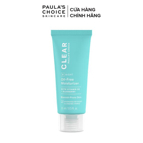 Kem Dưỡng ẩm dịu nhẹ không chứa dầu dành cho da mụn Paula's Choice Clear Oil-Free Moisturizer 15 ml 3807