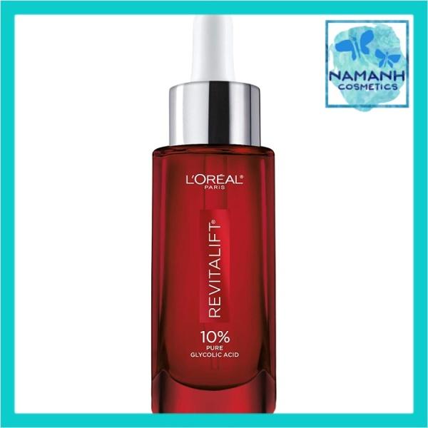 Serum chống lão hóa, giảm thâm nám LOreal Paris Revitalift Derm Intensives 10% Pure Glycolic Acid
