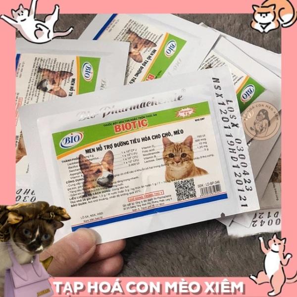 Men Tiêu Hoá Cho Chó Mèo Biotic- Hổ Trợ Đường Ruột, Khó Tiêu Thú Cưng