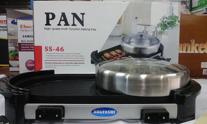 Bếp nướng tích hợp lẩu điện đa năng  2in1 PAN SS46