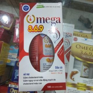 [ HÀNG CHÍNH HÃNG] Viên uống dầu cá Omega 3-6-9 - Giúp sáng mắt ,giảm nguy cơ xơ vữa động mạch,giảm cholesterol thumbnail