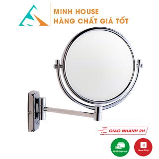 Gương xoay phóng đại 360 độ treo tường dùng treo phòng tắm, phòng ngủ.. Minh House thumbnail