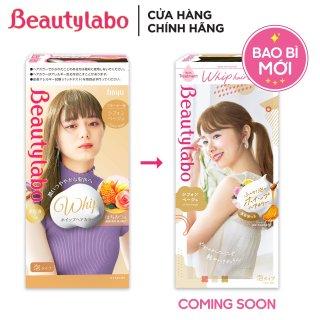 Thuốc nhuộm tóc tạo bọt Beautylabo 125ml Whip Hair Color Nhật Bản - Màu Vàng Mật Ong thumbnail