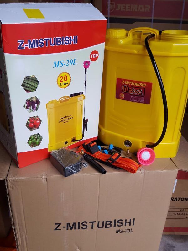 Bình xịt điện 20 lít z-mitsubishi - 20 lít (12v-8ah), Thời gian sử dụng sau khi sạc đầy: 6-8 giờ