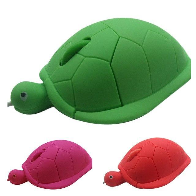 Chuột máy tính hình rùa có dây