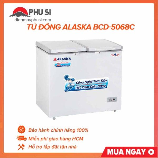 Tủ đông Alaska BCD-5068C