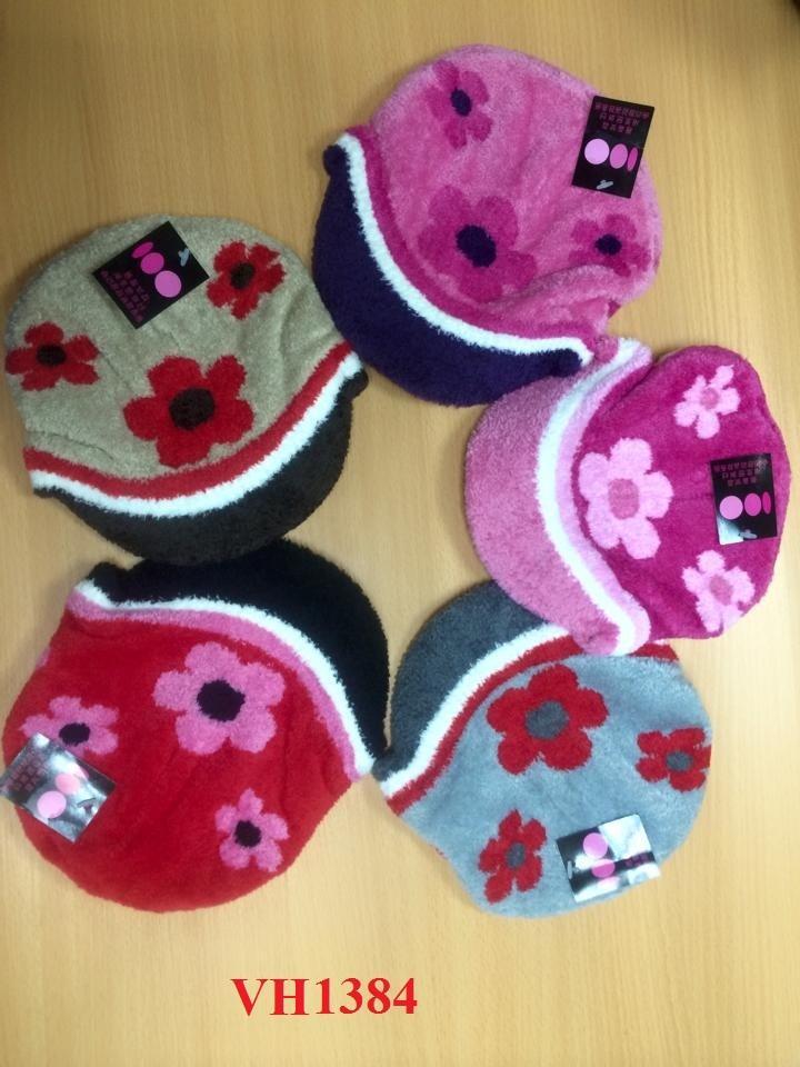 Giá bán Mũ len cho bé gái từ 5-12 tuổi VH1384