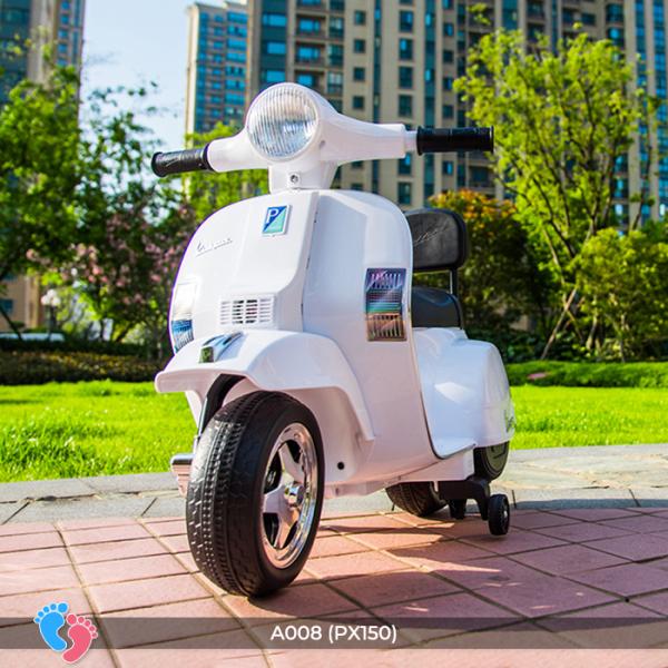 Xe máy điện Vespa cho bé BABY PLAZA A008 (PX150)