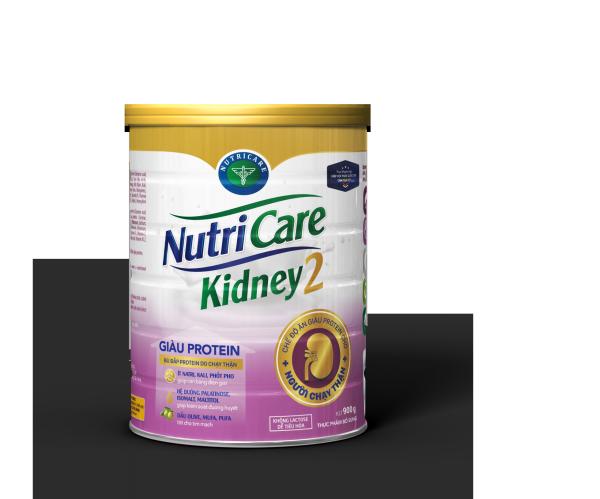 Sữa bột Nutricare Kidney 2 - giàu protein, dinh dưỡng cho người chạy thận nhân tạo (900g)