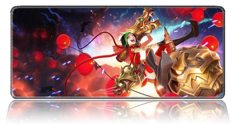 Giá Lót chuột 3d - Lót chuột kê tay anime 3d Miếng lót chuột chơi game cỡ lớn ( 70x30cm),  bàn di chuột đep, giá sốc,  hàng dày dặn - BẢO HÀNH 1 ĐỔI 1
