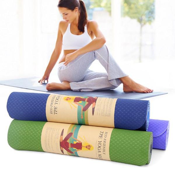 [LOẠI TỐT - HÀNG CAO CẤP] Thảm Yoga, Thảm Tập Yoga miDoctor, Thảm Tập Gym, Chất Liệu Bảo Vệ Môi Trường, thảm tập thể dục tại nhà, thảm tập gym, miếng tập yoga - Hàng Chính Hãng