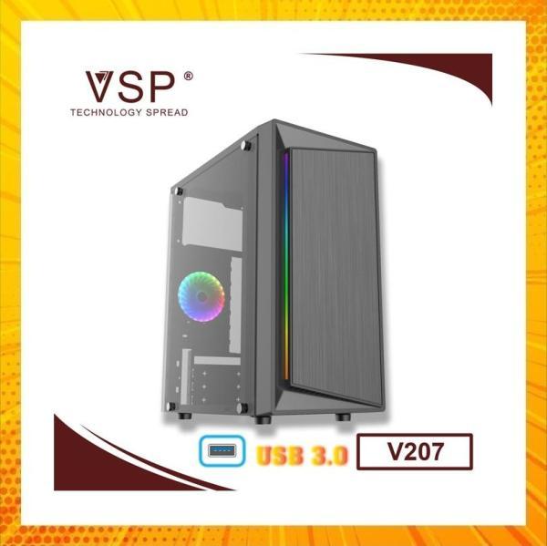 Bảng giá Case VSP V207 LED RGB - USB 3.0 Phong Vũ