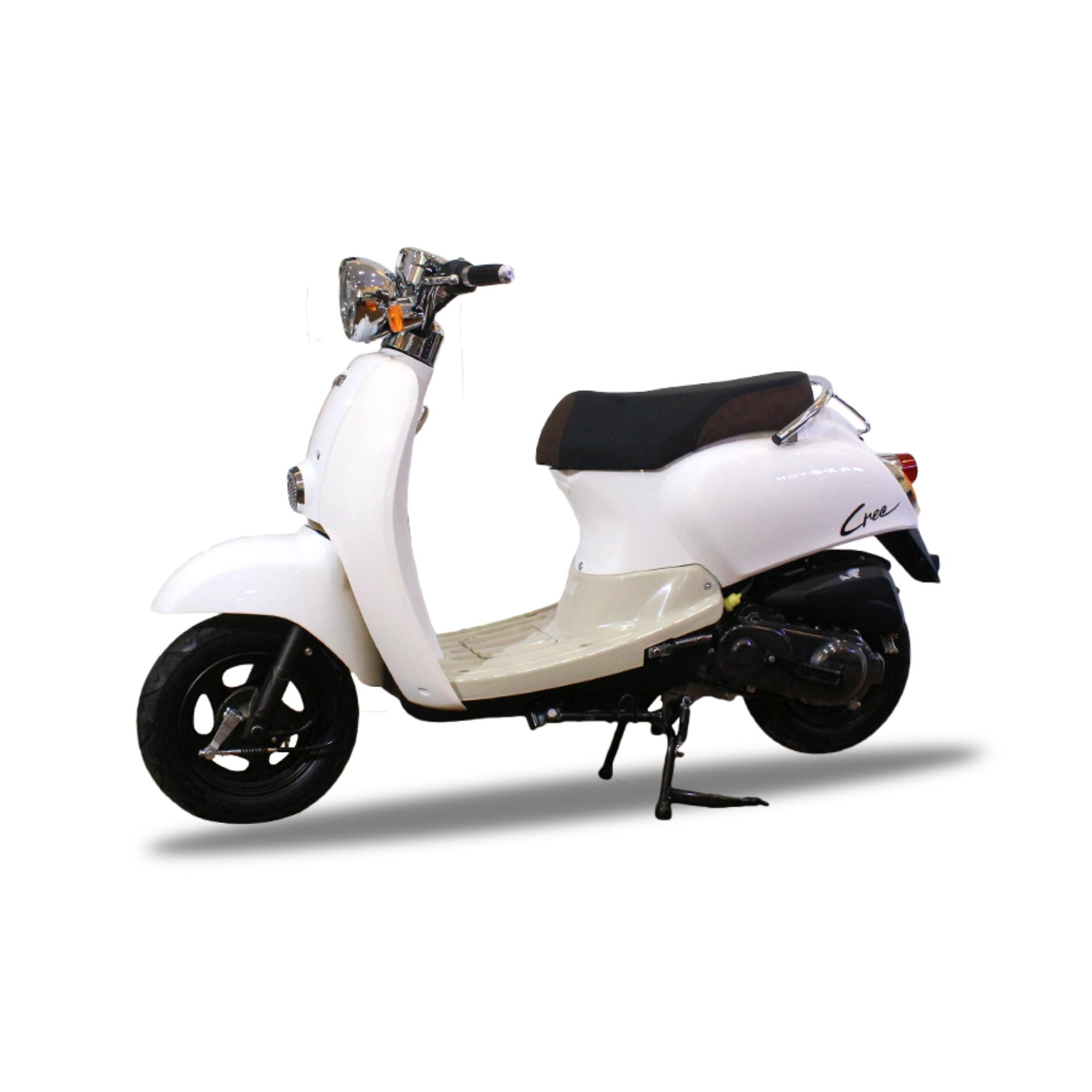 Xe tay ga 50cc TAYA CREA (màu trắng)