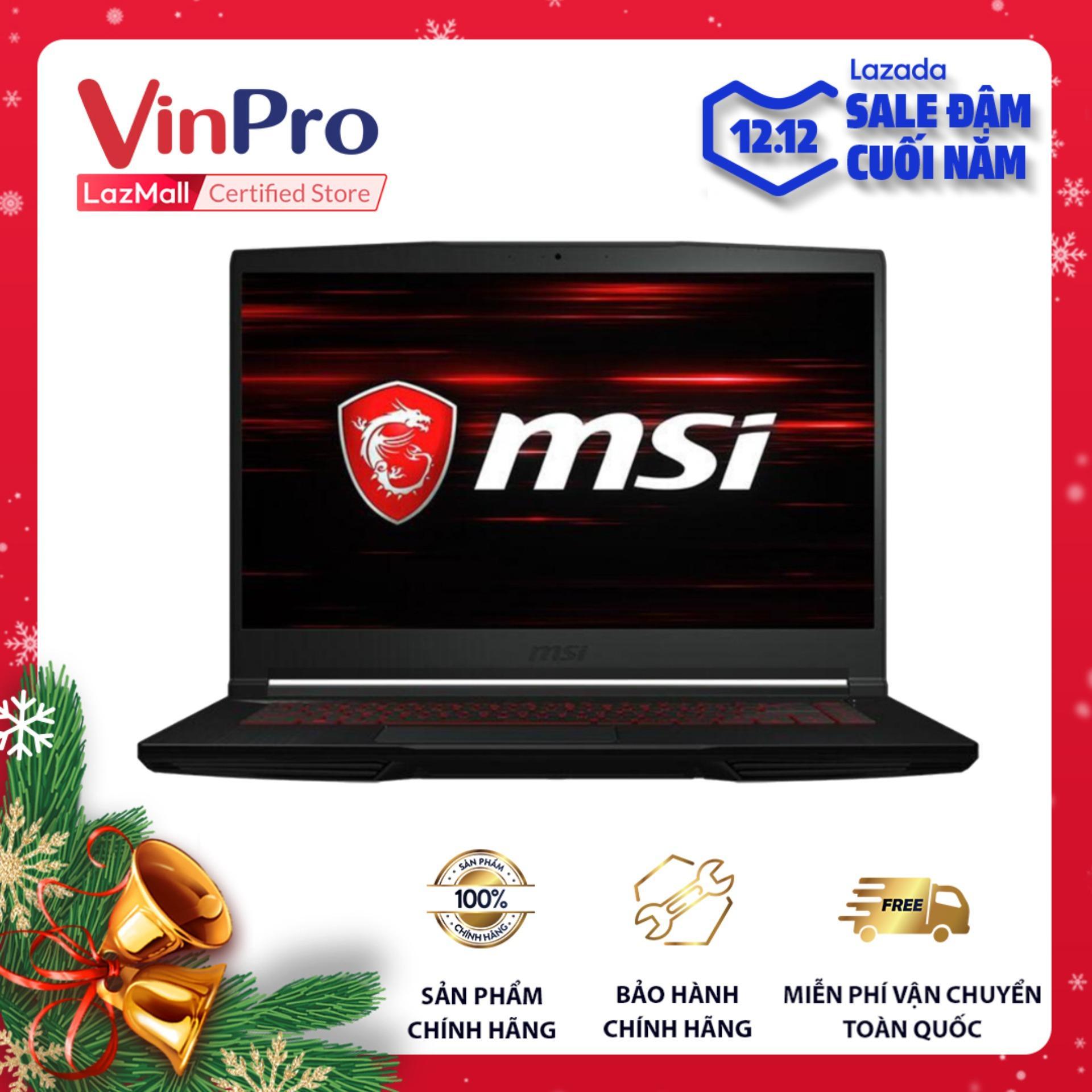 Deal Ưu Đãi Laptop MSI GF63 Thin 9RCX/ 646VN - Hàng Chính Hãng - Core I5-9300H, GTX 1050Ti 4GB, RAM 8GB, SSD 512GB, 15.6 Inch IPS