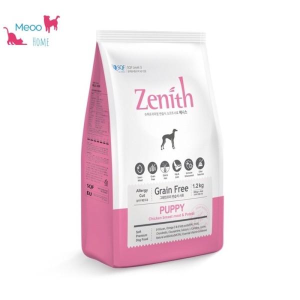 Thức ăn hạt mềm chó nhỏ Zenith PUPPY 1,2kg