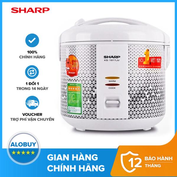 Nồi Cơm Điện Sharp 1.8 lít KS-181TJV