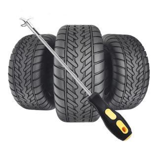 Dụng cụ nạy đinh cây tua vít lấy cạy đinh loại bỏ đá gạch cát lốp bảo vệ lốp xe tiện lợi nhỏ gọn cho xe hơi thumbnail