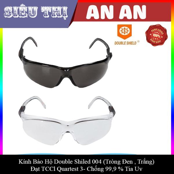 Giá bán Kính bảo hộ kính chống dịch DOUBLE SHILED tròng trắng, đen chắn tia UV Đài Loan sản xuất-004