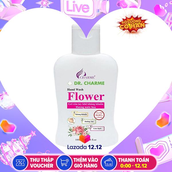 Gel Rửa Tay Khô Kháng Khuẩn Flower 100ml giá rẻ