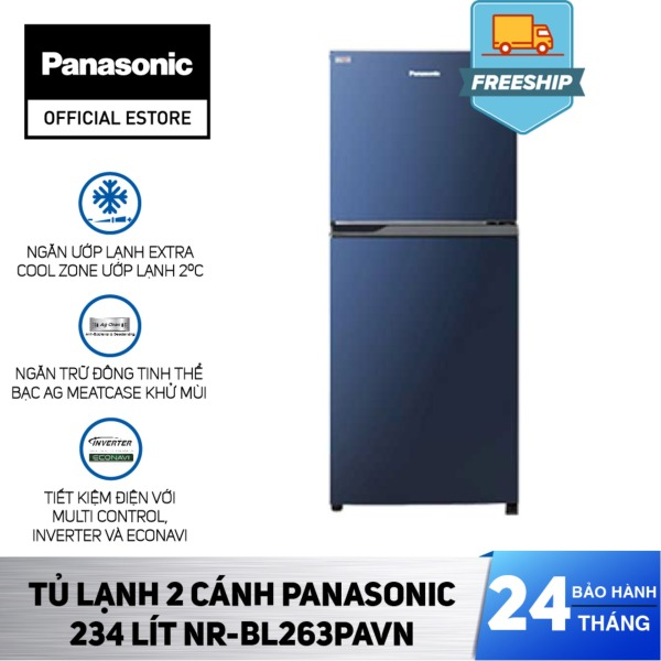 Bảng giá [Đặt Trước Giảm Ngay 1tr3] [Chỉ Giao HCM] - Tủ Lạnh 2 Cánh Panasonic 234 Lít NR-BL263PAVN - Bảo hành 2 năm - Hàng chính hãng Điện máy Pico