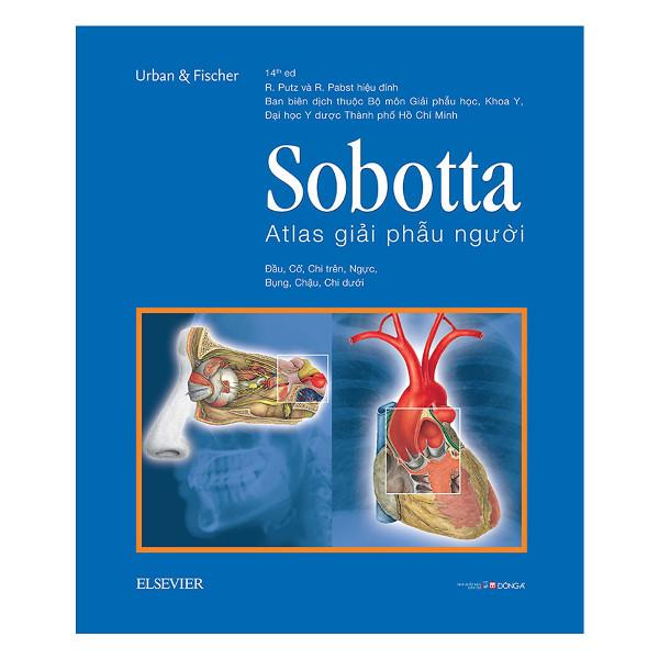 Mua Sobotta Atlas Giải Phẫu Người