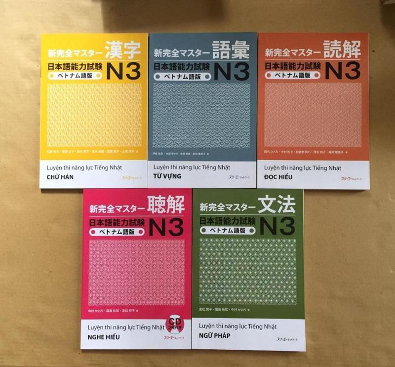 Mua Combo shinkanzen N3 trọn bộ 5 quyển bản dịch tiếng việt