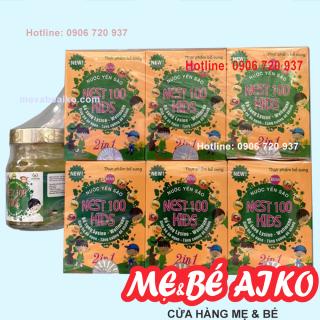Nước Yến Nest100 Kids Lysine 2in1 Giúp Trẻ Ăn Ngon - Lốc 6 Lọ 70ml Tặng Kèm 1 Lọ thumbnail