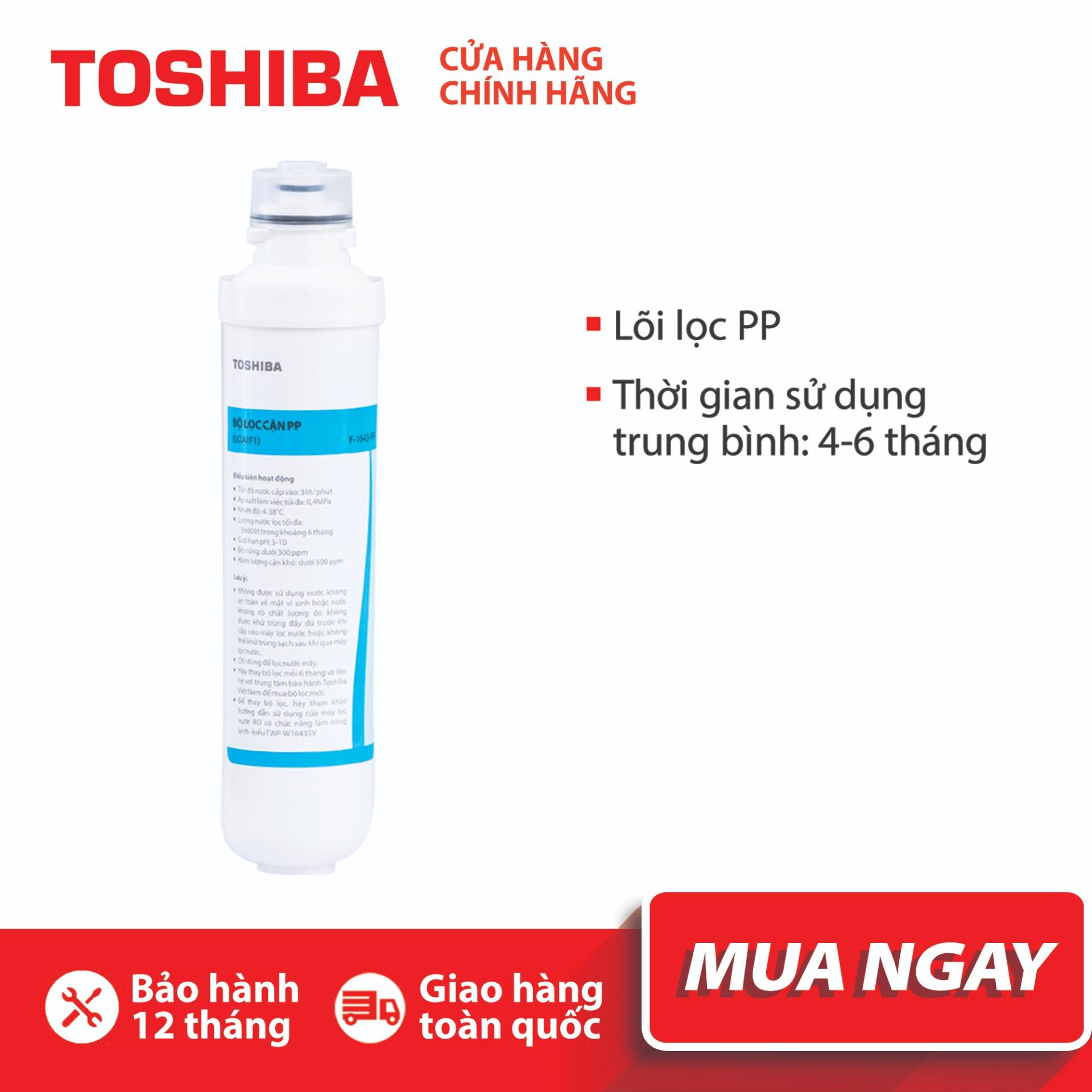 Bảng giá Lõi lọc nước Toshiba F-1643-PP (Bộ lọc PP cho model TWP-W1643SV) Điện máy Pico