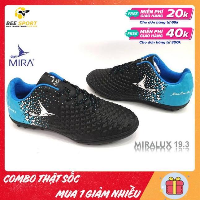 Giày Đá Bóng Nam Sân Cỏ Nhân Tạo Mira Lux 19.3 TF - Giày Đá Banh Trẻ Em, Người Lớn Giá Rẻ - COMBO THẬT SỐC - MUA 1 GIẢM NHIỀU giá rẻ