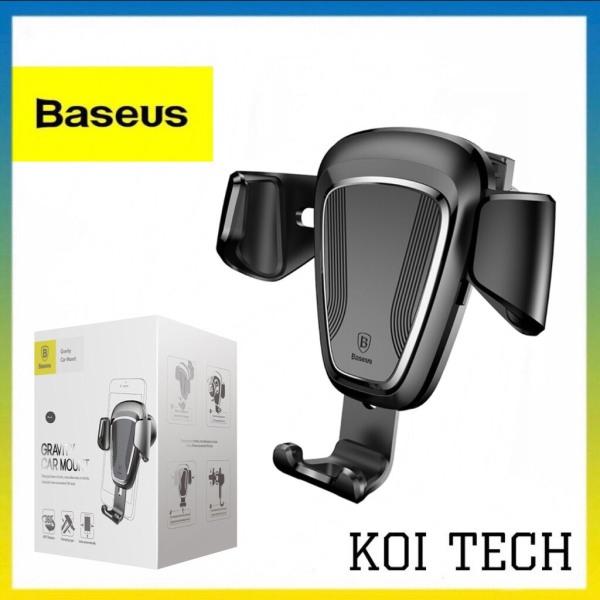Giá đỡ xe hơi Baseus Gravity Car Mount cao cấp gắn cửa điều hòa - Giá đỡ điện thoại trên oto