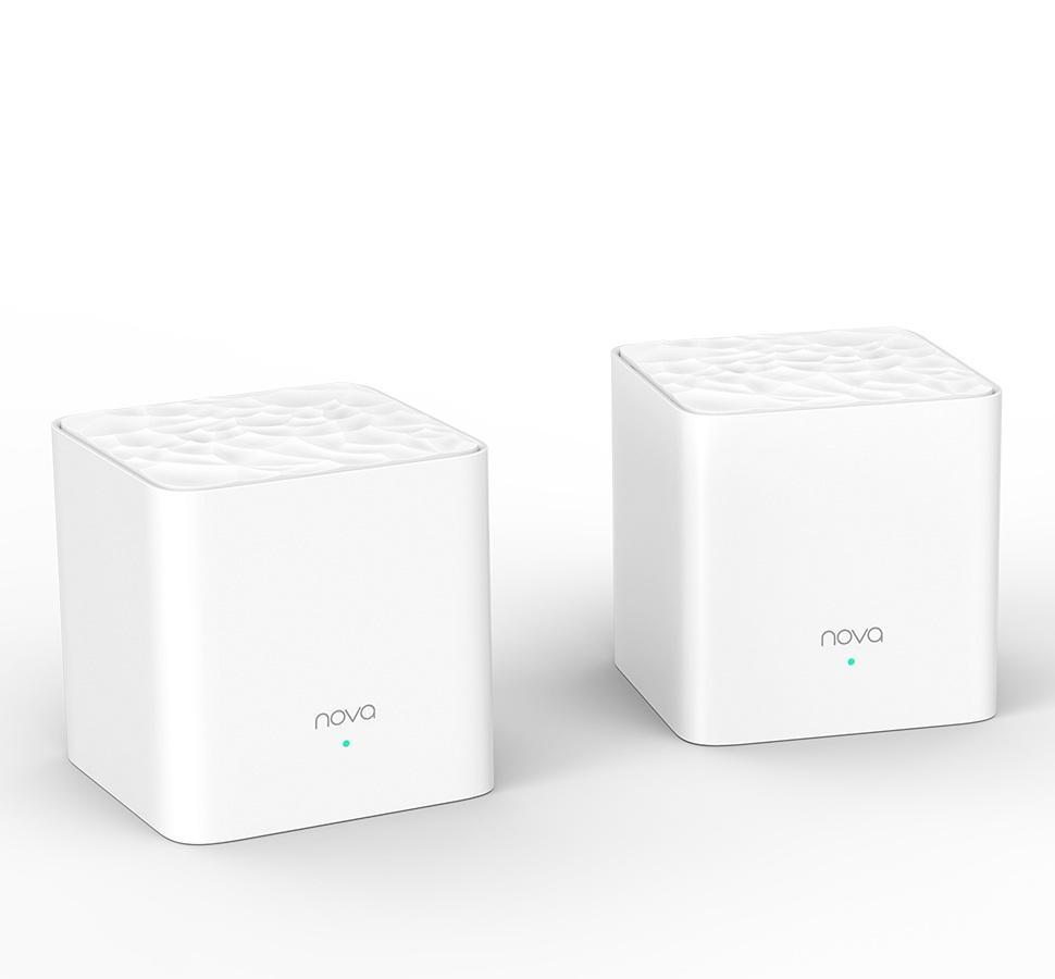 Giá Wifi Mesh Tenda Nova MW3 phủ sóng 200 mét vuông bộ 2 chiếc ( hàng nhập khẩu)