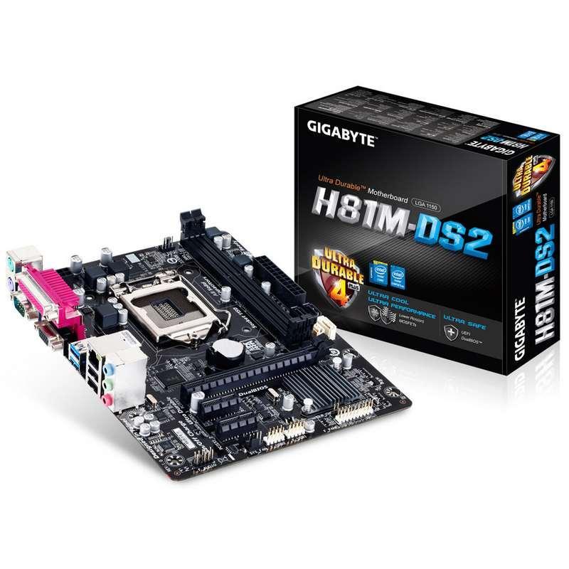 mainboard gigabyte H81M-DS2 socket 1150 Giá rẻ