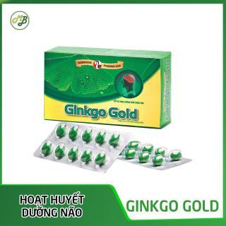 TPCN bổ não,tăng tuần hoàn máu não, giảm nguy cơ lão hóa,phục hồi trí nhớ GINKGO GOLD Medi&Beauty- Robinson Pharma USA thumbnail