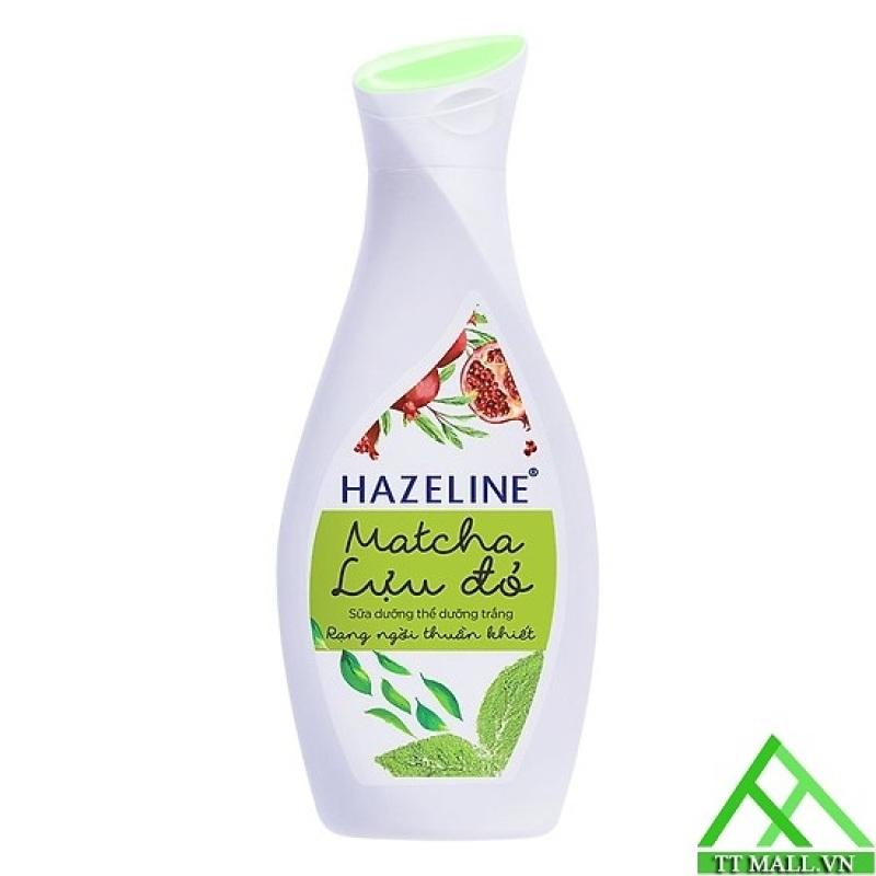 [HCM]Sữa Dưỡng Thể Trắng Da Hazeline Matcha và Lựu đỏ 230ml cao cấp
