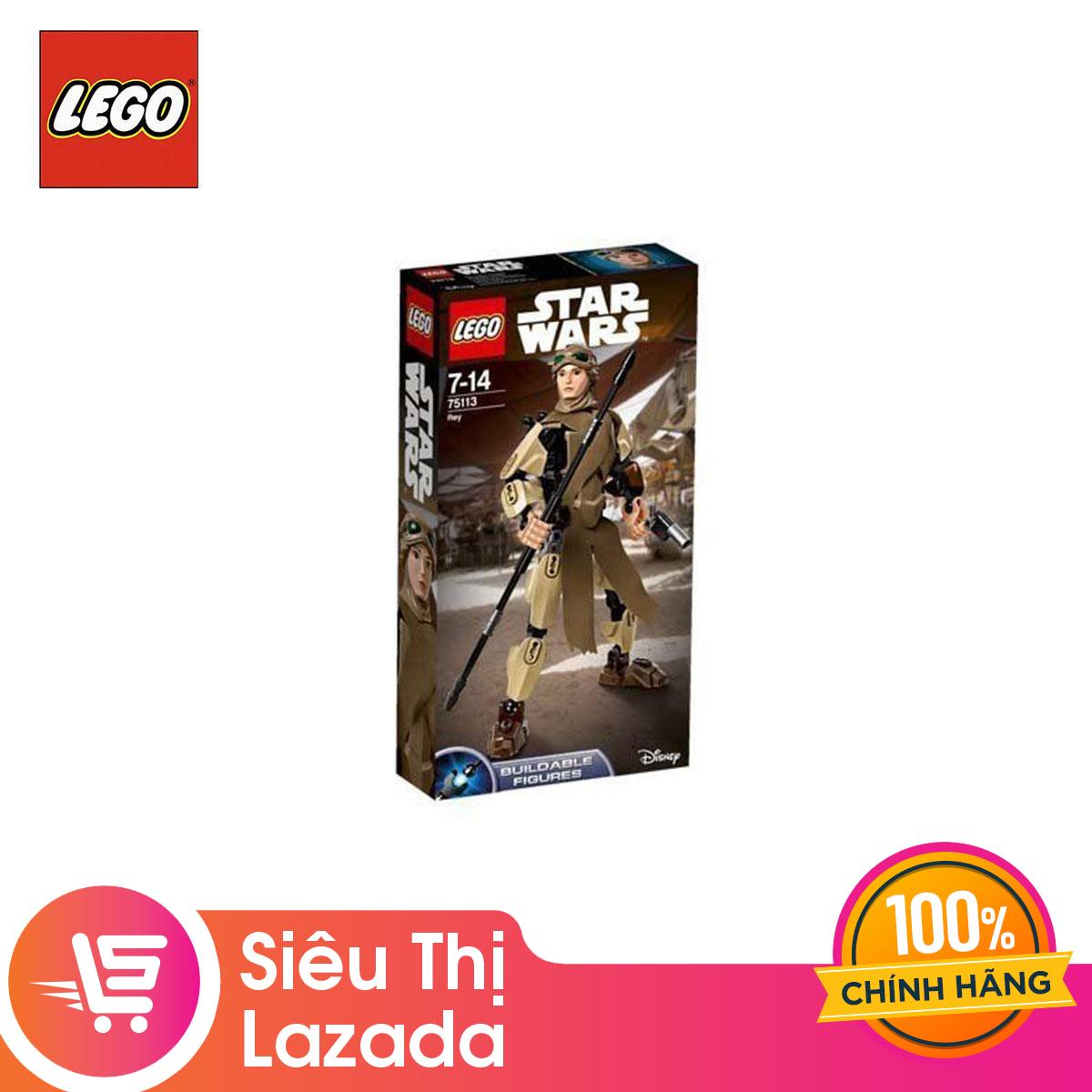 Voucher Ưu Đãi [Voucher Freeship 30k] Đồ Chơi Lắp Ráp Lego Nhân Vật Rey