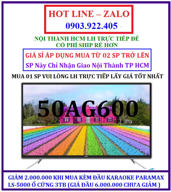Bảng giá SMART TIVI KÍNH CƯỜNG LỰC 50 INCHES ASANZO 50AG600 MODEL 2020