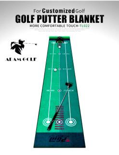 New 2022 - Full bộ sản phẩm cao cấp cho người chơi GOLF (Combo 03 sản phẩm Thảm tập PUTT + gậy PUTT + Máy trả bóng thông minh tự động) thumbnail