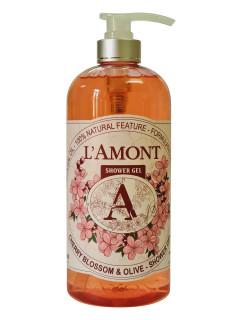 Sữa tắm Cherry Blossom 1000ml - Thương hiệu L amont En Provence thumbnail