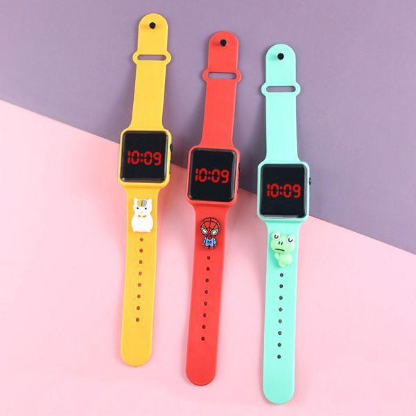 Nơi bán ZHIWOYO Phụ nữ Đầy màu sắc Thời trang Điện tử Kỹ thuật số Analog Đồng hồ thể thao Đồng hồ kỹ thuật số LED Xem trẻ em Đồng hồ đeo tay hoạt hình