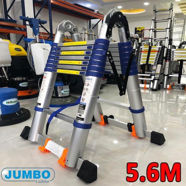 Thang nhôm rút đôi JUMBO 5.6M [2.8m+2.8m] A280B