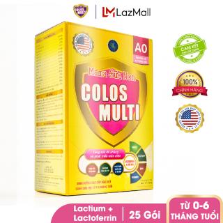 Sữa bột tăng sức đề kháng Mama Sữa Non Colos Multi A0 hộp 25 gói x 14g thumbnail