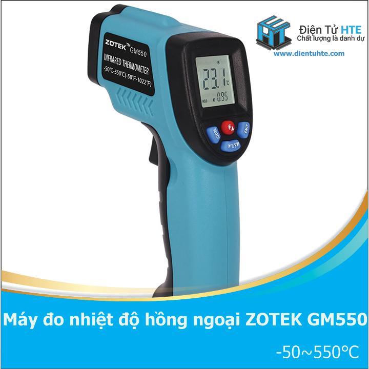 Máy đo nhiệt độ hồng ngoại ZOTEK GM550