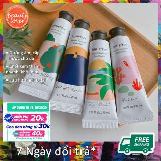 [NEW 2020] Kem Dưỡng Da Tay Innisfree Jeju Life Perfumed Hand Cream 30ml Beauty Lover Mùi Thơm Lâu Phai & Dưỡng Ẩm Tốt thumbnail
