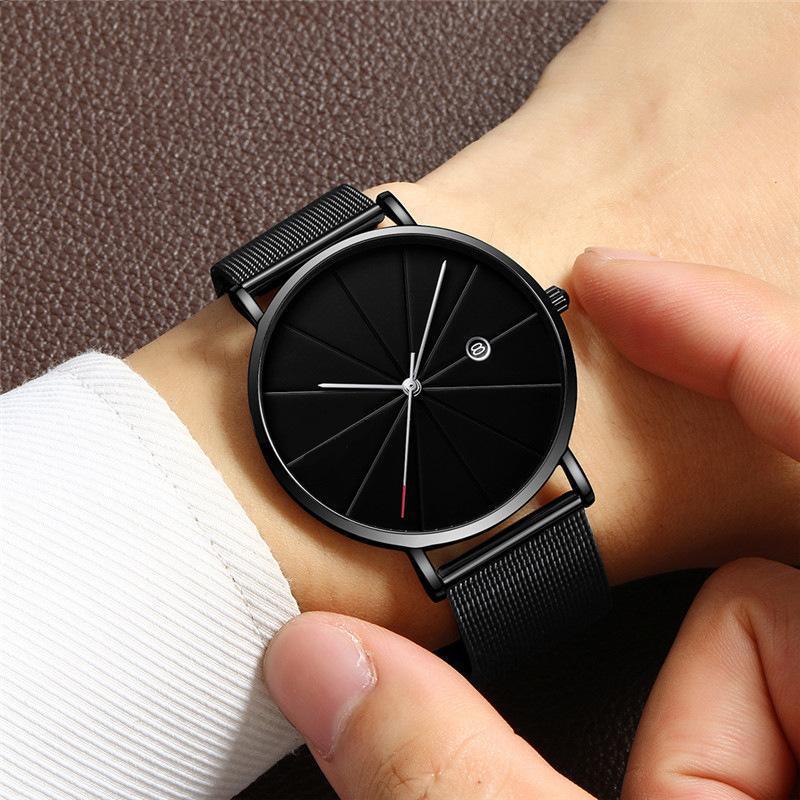 Nơi bán [HOT] Đồng hồ nam A8901, đồng hồ thời trang nam, đồng hồ chống nước, đồng hồ thạch anh, dây thép mềm vừa với mọi cỡ cổ tay, kính khoáng cường lực chống xước, chống mài mòn, đồng hồ đẹp giá sốc [Good shops]